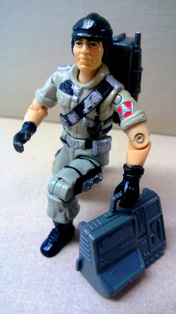 Mainframe straps on his communication gear for the first time in nearly 20 years.