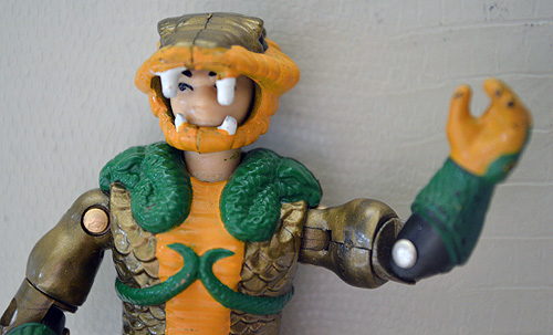 Serpentor says, 'Hello.'