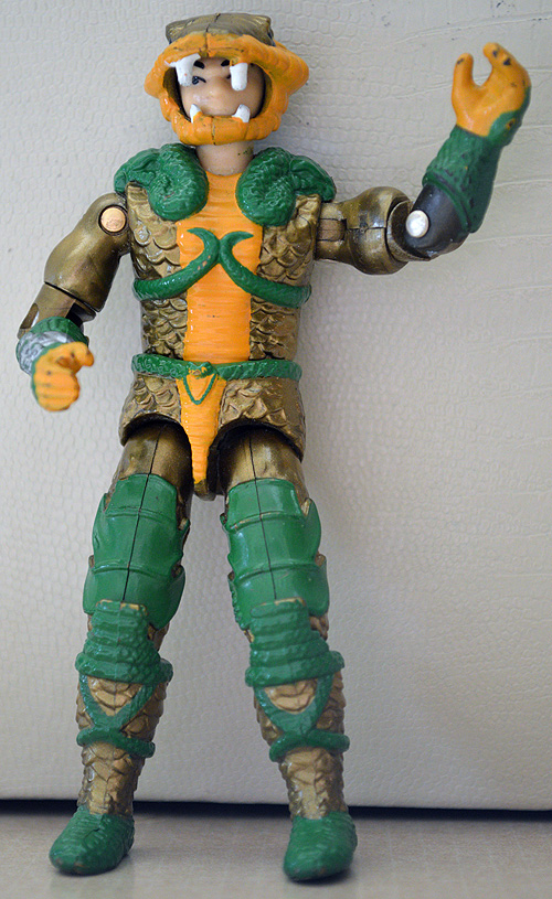 Serpentor is one of the few left standing.