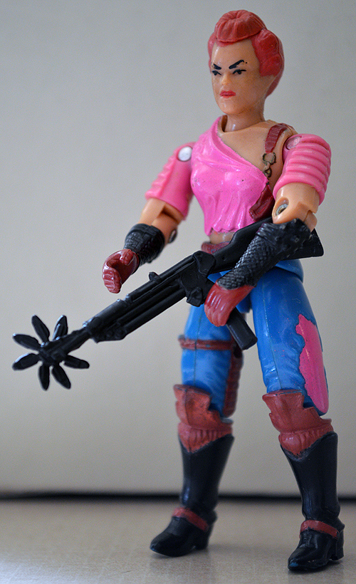 Zarana is a pretty kick-ass chick to have survived all these years without breaking.