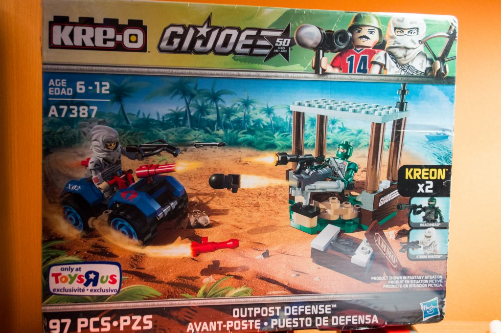 My unopened KRE-O G.I. Joe 'Outpost Defense' set.