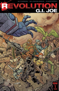 Cover for 'G.I. Joe: Revolution' issue No. 1.