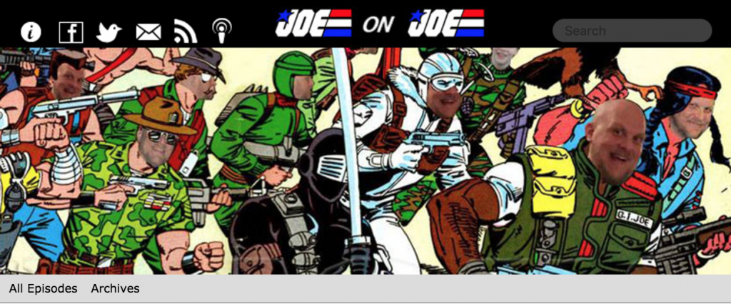 'Joe on Joe' podcast is great fun.